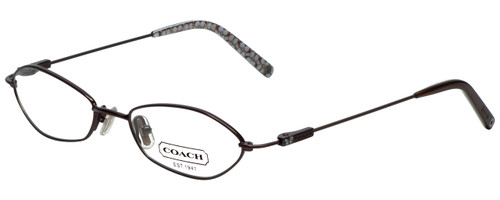 Coach Designer Eyeglasses HC113-246 in Coffee 49mm :: Progressive