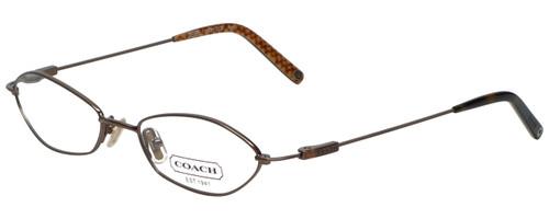 Coach Designer Eyeglasses HC113-255 in Tan 49mm :: Rx Bi-Focal