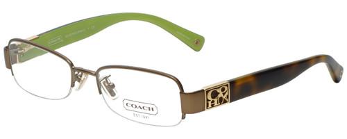 Coach Designer Reading Glasses HC5016Q-9002-51 in Sand 51mm