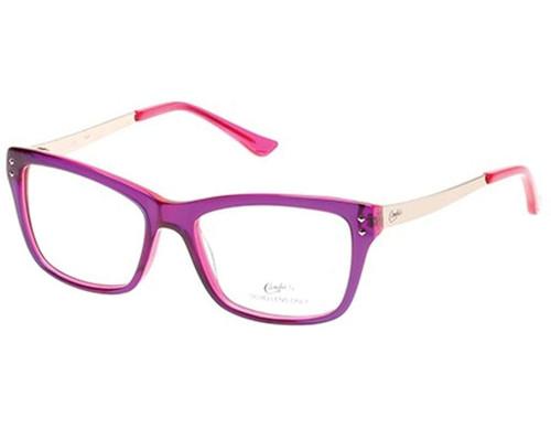 Candies Designer Eyeglasses CA0100-081 in Purple 51 mm :: Custom Left & Right Lens