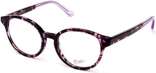 Candies Designer Eyeglasses CA0150-081 in Purple Tortoise 49 mm :: Custom Left & Right Lens