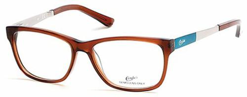 Candies Designer Eyeglasses CA0132-050 in Brown 54 mm :: Custom Left & Right Lens