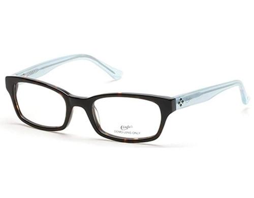 Candies Designer Eyeglasses CA0109-056 in Dark Havana 50 mm :: Custom Left & Right Lens