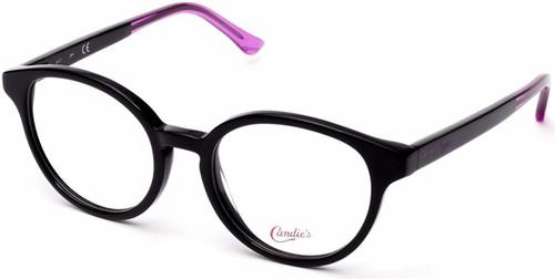 Candies Designer Eyeglasses CA0150-001 in Black 49 mm :: Custom Left & Right Lens