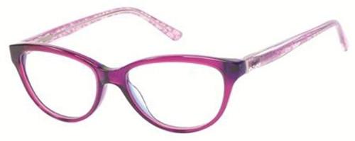 Candies Designer Eyeglasses Coral-Fus in Fuchsia 53 mm :: Custom Left & Right Lens