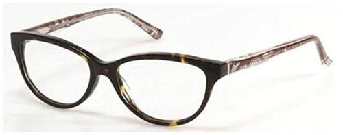Candies Designer Eyeglasses Coral-TO in Tortoise 53 mm :: Custom Left & Right Lens