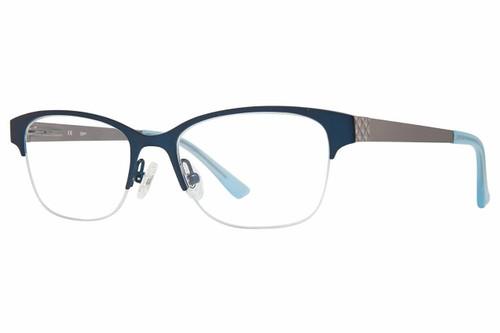 Candie's Designer Eyeglasses CA0106-092 in Teal 50 mm :: Custom Left & Right Lens