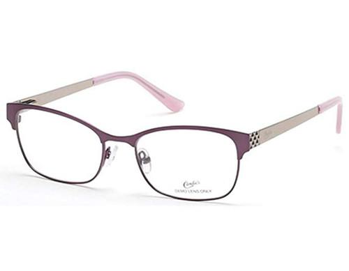 Candie's Designer Eyeglasses CA0108-083 in Violet 52 mm :: Custom Left & Right Lens