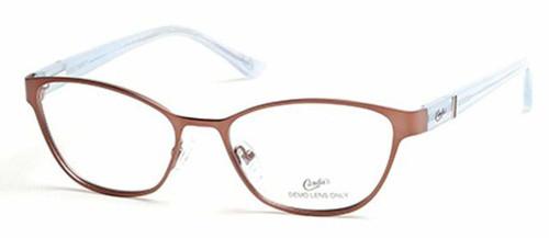 Candie's Designer Eyeglasses CA0119-047 in Bronze 53 mm :: Custom Left & Right Lens