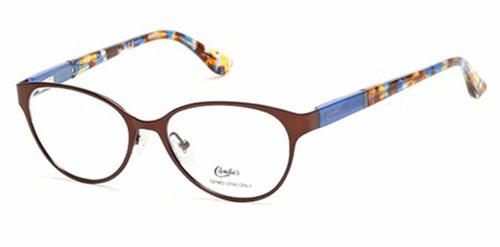 Candie's Designer Eyeglasses CA0139-092 in Copper Brown 50 mm :: Custom Left & Right Lens