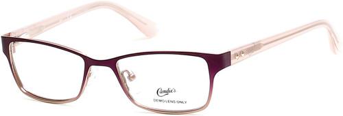 Candie's Designer Eyeglasses CA0501-083 in Violet 48 mm :: Custom Left & Right Lens