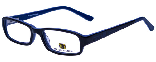Body Glove Designer Reading Glasses BB128 in Black Blue KIDS SIZE