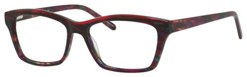 Marie Claire Designer Eyeglasses MC6221-BUT in Burgundy Tortoise 54mm :: Rx Single Vision