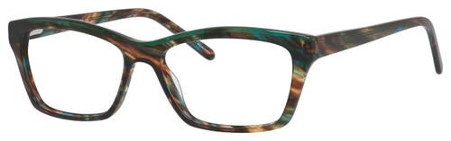 Marie Claire Designer Eyeglasses MC6221-FOT in Forest Tortoise 54mm :: Rx Single Vision
