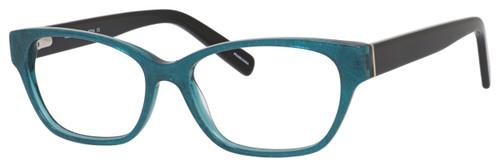 Marie Claire Designer Eyeglasses MC6224-TLB in Teal Black 54mm :: Rx Bi-Focal