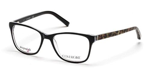 Cover Girl Designer Eyeglasses CG0459-005 in Black 53mm :: Custom Left & Right Lens