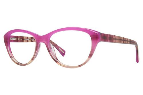 Cover Girl Designer Eyeglasses CG0525-077 in Purple Fade 53mm :: Custom Left & Right Lens