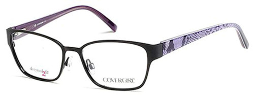 Cover Girl Designer Eyeglasses CG0454-002 in Black 54mm :: Rx Single Vision