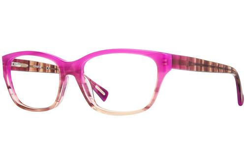 Cover Girl Designer Eyeglasses CG0526-077 in Purple Fade 52mm :: Rx Single Vision
