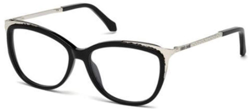 Roberto Cavalli Designer Eyeglasses RC5031-001 in Black 54mm :: Progressive