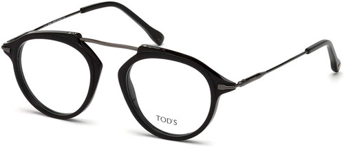 Tod's Designer Eyeglasses TO5181-001 in Black 48mm :: Rx Bi-Focal