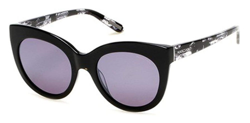 Guess  Designer Sunglasses GM0760-01C in Black with Grey Lenses