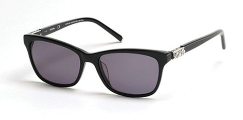 Harley-Davidson Official Designer Sunglasses HD0305X-01A in Black with Grey Lenses