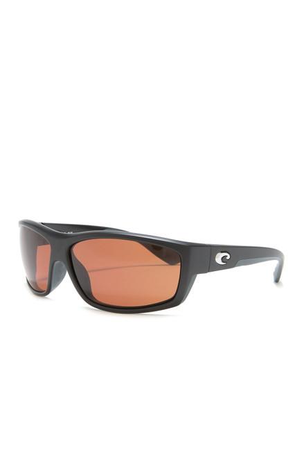 Costa Del Mar™ Polarized 580P Sunglasses: Saltbreak in Matte Black with Copper Lenses