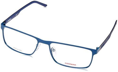 Carrera Designer Reading Glasses CA8815-0PN5 in Matte Blue 55mm