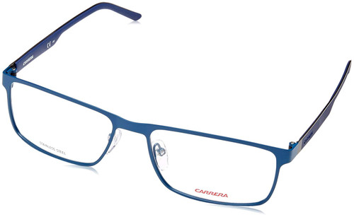 Carrera Designer Eyeglasses CA8815-0PN5 in Matte Blue 55mm :: Progressive