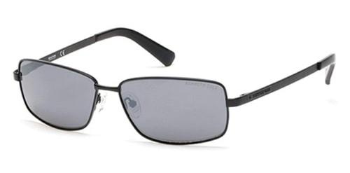 Kenneth Cole Designer Sunglasses KC7212-02C in Matte Black with Grey Lens