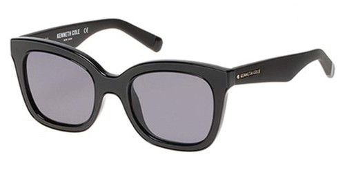 Kenneth Cole Designer Sunglasses KC7210-01A in Black with Grey Lens