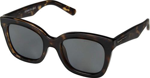 Kenneth Cole Designer Sunglasses KC7210-52D in Tortoise with Grey Lens