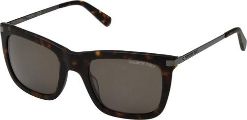 Kenneth Cole Designer Sunglasses KC7203-52N in Havana with Grey Lens