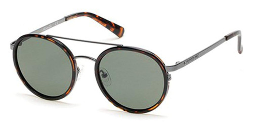 Kenneth Cole Designer Sunglasses KC7204-52R in Tortoise with Grey Lens