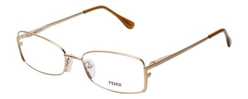 Fendi Designer Eyeglasses F960-714 in Gold 52mm :: Custom Left & Right Lens