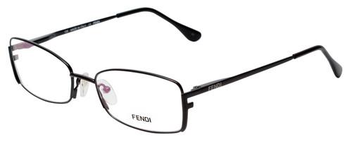 Fendi Designer Eyeglasses F960-001 in Black 52mm :: Custom Left & Right Lens