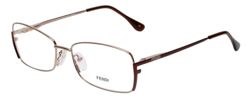 Fendi Designer Eyeglasses F959-770 in Bronze 54mm :: Rx Single Vision