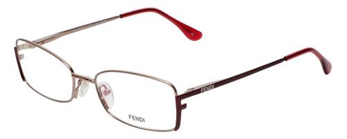 Fendi Designer Eyeglasses F960-770 in Light Bronze 52mm :: Rx Single Vision
