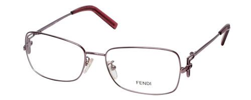 Fendi Designer Eyeglasses F682R-660 in Lavender Gold 55mm :: Rx Single Vision