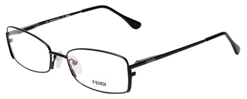 Fendi Designer Eyeglasses F960-001 in Black 52mm :: Rx Single Vision