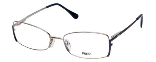 Fendi Designer Eyeglasses F960-030 in Nickel 52mm :: Rx Bi-Focal