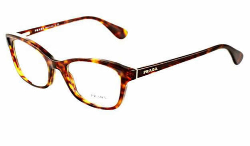 Prada Designer Eyeglasses VPR05P in Tortoise :: Rx Single Vision