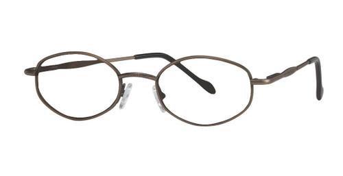 Reptile Designer Eyeglasses Boa in Pewter :: Custom Left & Right Lens
