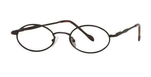 Reptile Designer Eyeglasses Chameleon in Matte Black :: Custom Left & Right Lens