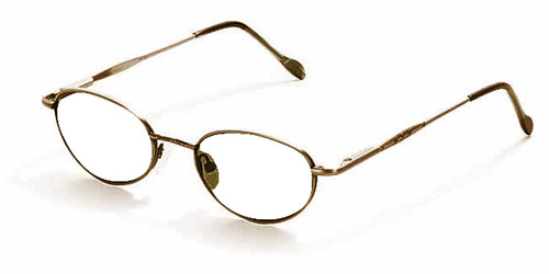 Reptile Designer Eyeglasses Gecko in Bronze :: Custom Left & Right Lens