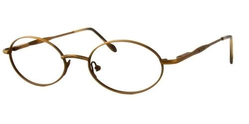 Reptile Designer Eyeglasses Iguana in Bronze :: Custom Left & Right Lens