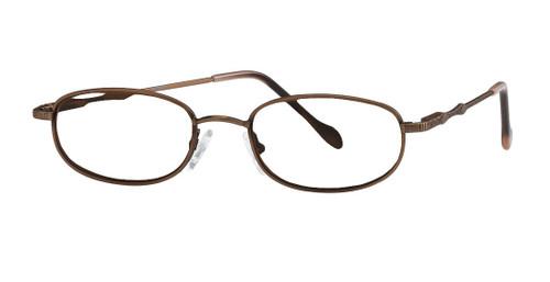 Reptile Designer Eyeglasses Monitor in Bronze :: Custom Left & Right Lens