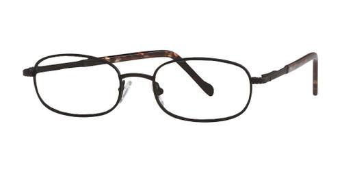 Reptile Designer Eyeglasses Skink in Matte Black :: Custom Left & Right Lens