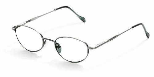 Reptile Designer Eyeglasses Gecko in Pewter :: Rx Single Vision